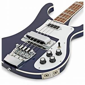 Rickenbacker 4003 Bass Guitar  Midnight Blue At Gear4music