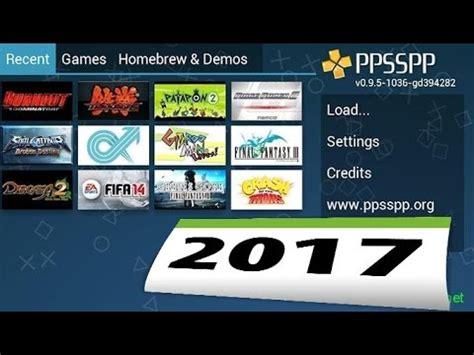 jeux android sur pc ppsspp joue sur pc ou android a des jeux psp 2016