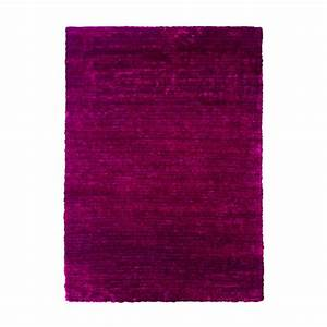 tapis shaggy prune longues meches tapis viking 120x170 With tapis couleur prune