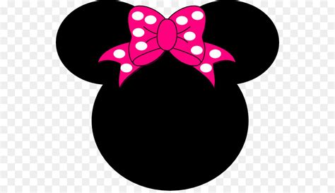 minnie mouse head silhouette  getdrawings