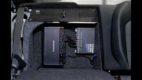 Part Mustang Audio Upgrade Sub Install Dsp