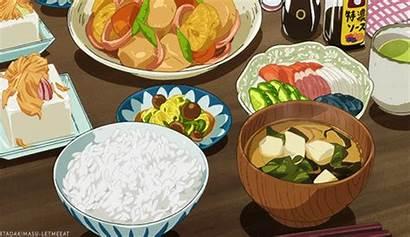 Dinner Anime Eat Avocado Itadakimasu Title