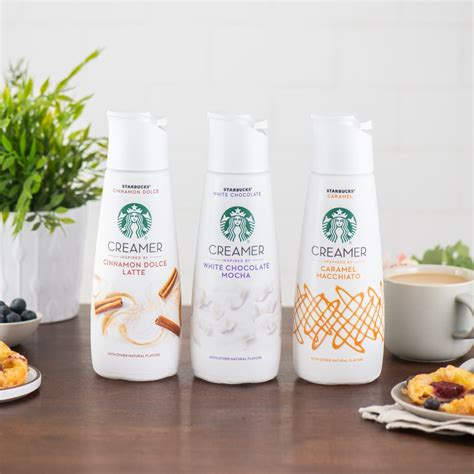 With layers of rich, white chocolatey sweetness, it has a great taste and creamy texture that set it apart from other flavored creamers. Starbucks Coffee Creamers 2019   POPSUGAR Food