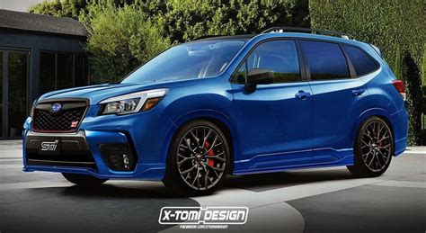 Subaru Sti 2020 by 2020 Subaru Forester Sti Might Be On The Cards