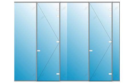 Hide Away Glass Pocket Doors