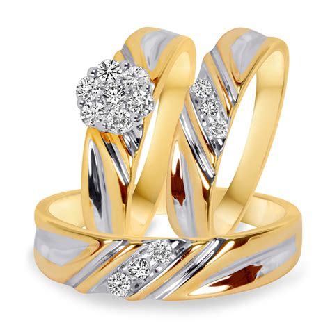 10k yellow gold 3 8 ct t w style bt508y10k
