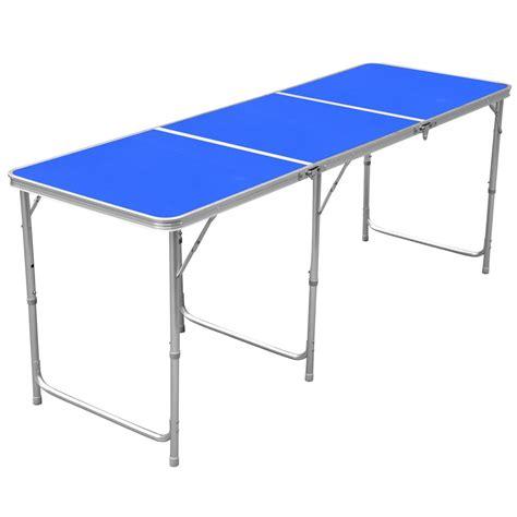 aluminum portable folding table 1 8m 6ft aluminum portable folding cing picnic party