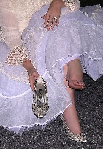 Me Feet Toes Bare Foot Shoes White Lingerie Flickr