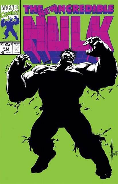 Hulk Incredible Comic 377 Marvel Covers Vol