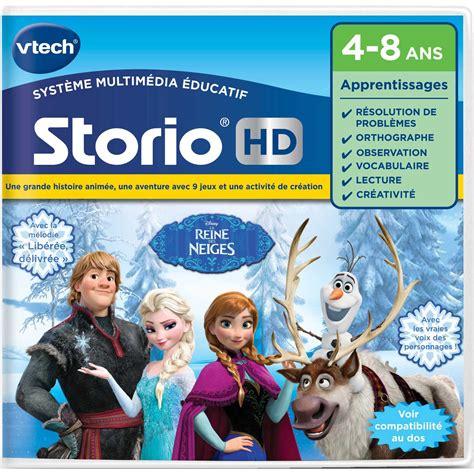 jeux de cuisine de la reine des neiges jeu storio hd la reine des neiges vtech jouets