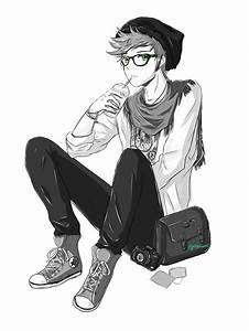 anime hipster boy - Buscar con Google | Drawing Ideas ...