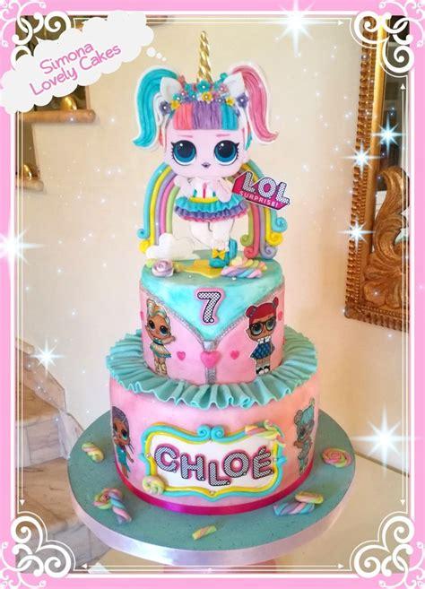 lol unicorn cake  simona lovely cakes funny birthday