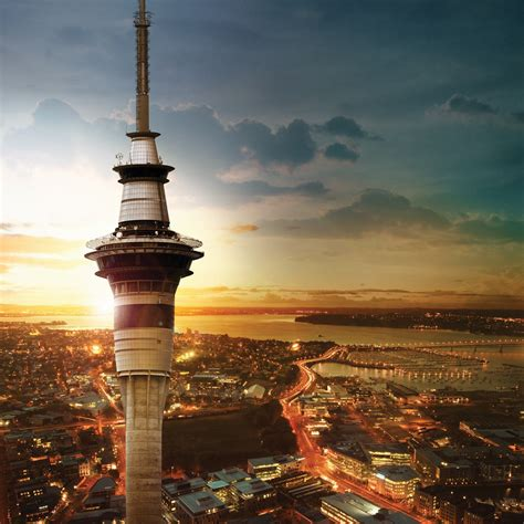 Sky Tower  Auckland Activities & Attractions  Big Little City