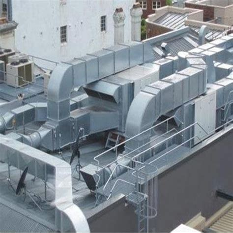 ducting work gi ducting services manufacturer  faridabad