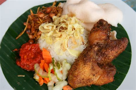 nasi uduk komplit essentially nasi lemak catherine
