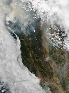 Smoke From Fires In Southwestern Oregon  Northern Californ