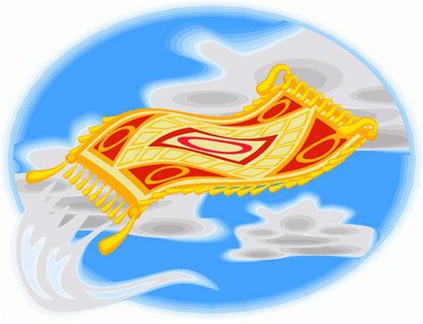 fliegender teppich wolken ausmalbild malvorlage phantasie