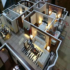 Interior, Design, Service, For, House, Layout, With, Light, And