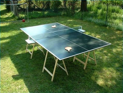 homemade ping pong table how to build a table tennis table