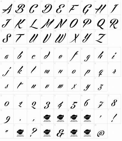 Font Script Park Fonts