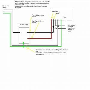 I Have A Broan Qtxe110flt Fan I Need A Simple Diagram On How To Wire It From The Box To The