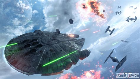 siege millenium the millennium falcon hd wallpaper and background