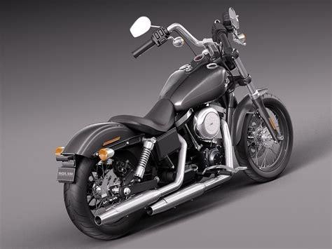 Harley Davidson Sportster Models by Harley Davidson Sportster Dyna Bob 3d Model Max