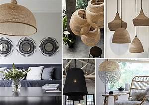 Abat Jour En Osier : osez les paniers en osier escale design escale design ~ Nature-et-papiers.com Idées de Décoration