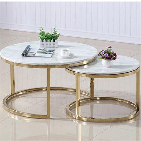 Scandinavian Marble Coffee Tea Table Simple Modern Living