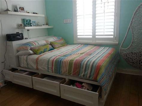 built  bed sawdust girl