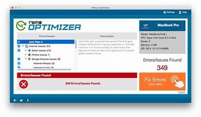Errors Fix Mac Fixing Software Remo Optimizer