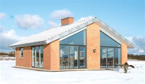 Kleine Holzhäuser Preise by Danhaus Fertighaus Alsen Terrassenansicht Vollverblendfassade