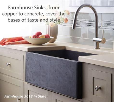 slate kitchen sink trails farmhouse concrete sink in slate kitchen 2306