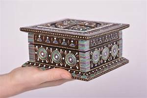 Boite A Bijoux Design : madeheart bo te bijoux fait main coffret bijoux d co maison bois originale design ~ Melissatoandfro.com Idées de Décoration