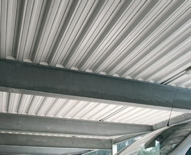 insulating  metal deck ceiling   house