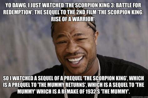 Scorpion Meme - scorpion king quotes quotesgram