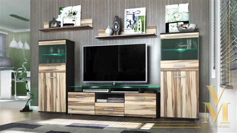 furniture   modern fancy living room  wall unit