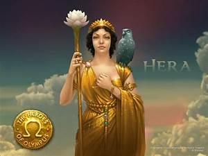 griekse god hera was de vrouw van Zeus en de godin van het ...