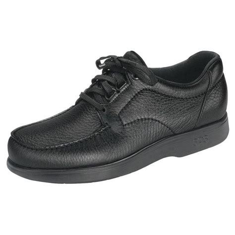 sas mens bout time black leather orthopedic shoe widths  ebay  shoes  men