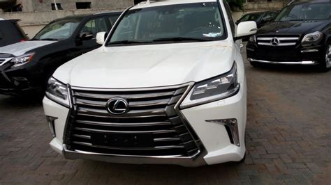 Brand New Lexus Lx570 2016 Latest @just #47m  Autos Nigeria