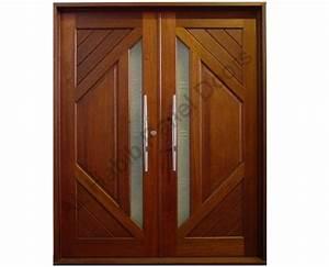 Diyar Wood Main Double Door Pid004 - Main Doors Design