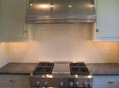 2x8 Subway Tile Backsplash by White Subway Tile In Herringbone Pattern Transitional