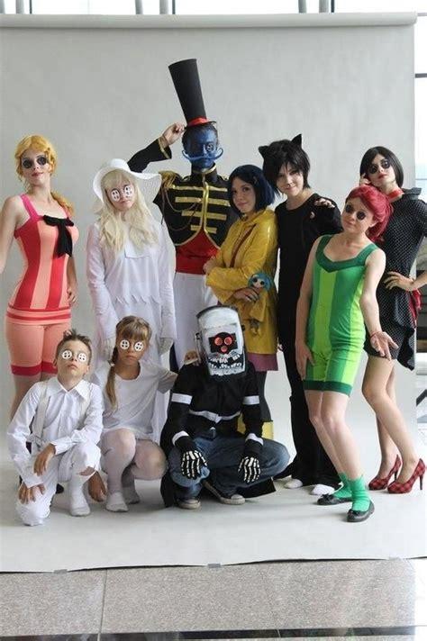Bosie On Halloween Halloween Cosplay Coraline Group