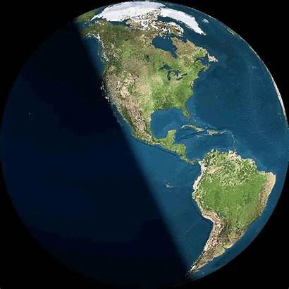 Earth Planet Solstice Gifs Sun Summer Animated