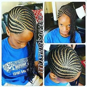 Children39s Cornrows Natural Hair Style Braids