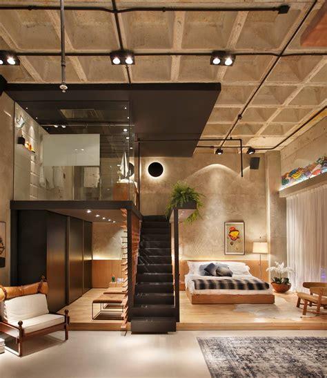 7 Inspirational Loft Interiors by Loft Casacor 2014 House Design Industrial