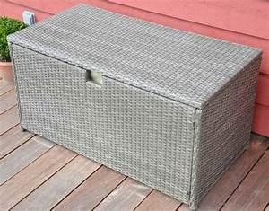 Coffre En Rotin : mobilier de jardin salons tables chaises bains de soleil ~ Teatrodelosmanantiales.com Idées de Décoration