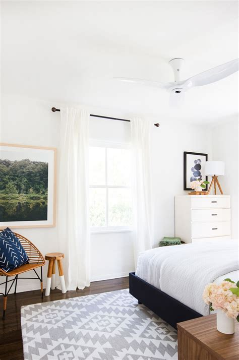 best fan for small room the easiest guest room makeover ever emily henderson