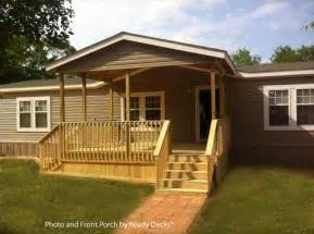 Mobile Home Deck Ideas Pictures by Mobile Home Porch Design For Comfort And Curb Appeal