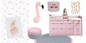 idee deco flamants roses de la douceur et de l With affiche chambre bébé avec tapis lotus